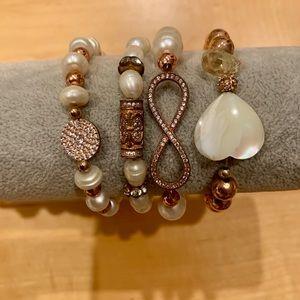 Jewelry - ✨4 in 1 Beaded and Stone Bracelet ✨